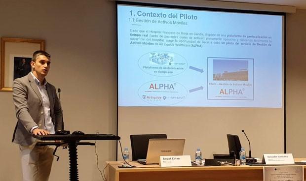 Alpha, de Air Liquide, optimiza el uso de activos móviles en el hospital