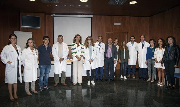 Alumnos de Medicina de Zaragoza y Lérida, de prácticas en el San Pedro