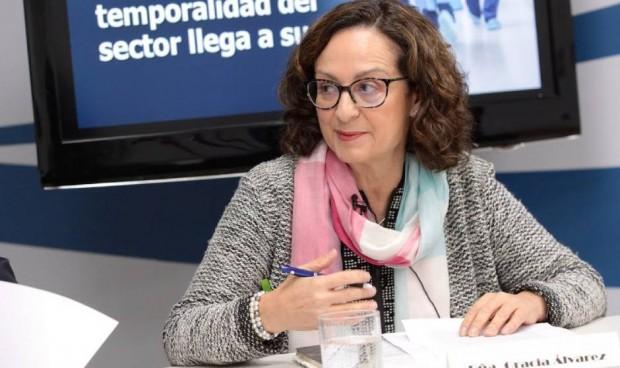 """Álvarez deja el mando sanitario de UGT: """"Quiero jubilarme como enfermera"""""""