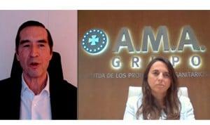 AMA apoya a los sanitarios en su último webinar sobre resiliciencia y Covid