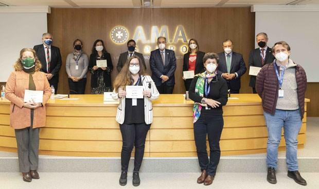 AMA entrega los Premios Mutualista Solidario, dotados con 60.000 euros