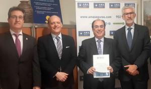 AMA firma la póliza de Vida con el Colegio de Odontólogos de Aragón