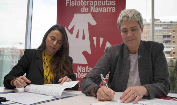AMA y el Colegio de Fisoterapeutas de Navarra firman una póliza colectiva