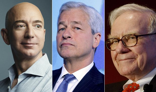 Amazon, Warren Buffet y JP Morgan se alían y asaltan el sector sanitario