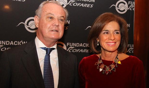 Ana Botella recibe el galardón anual de la Fundación Cofares