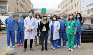 Andalucía recibe por primera vez la donación en vivo de una córnea