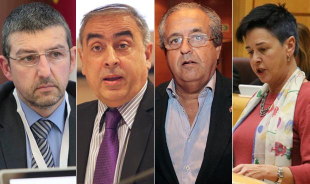 Andoni Lorenzo, José Martínez Olmos, Antonio Alarcó y Nerea Ahedo