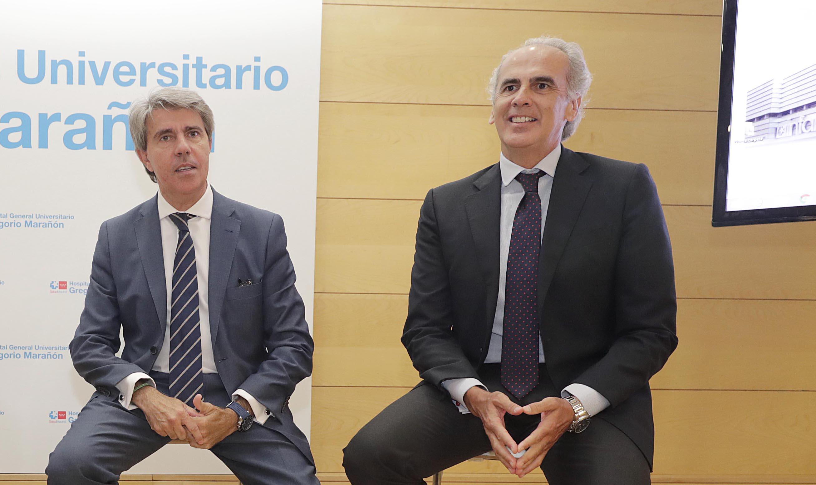 Ángel Garrido y Enrique Ruiz Escudero