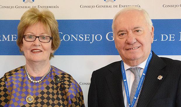 Annette Kennedy y Florentino Pérez Raya