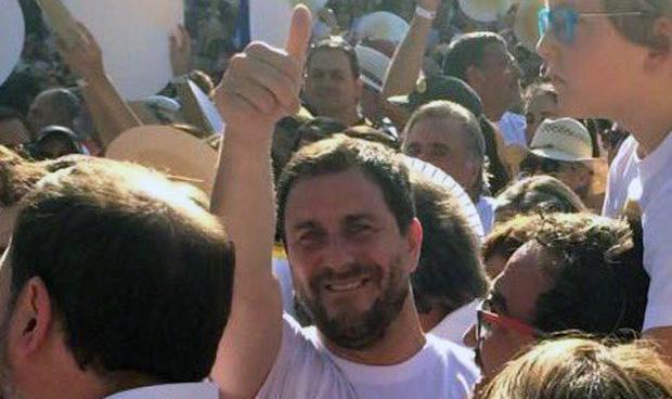 Antoni Comín 'se viene arriba' en la Diada