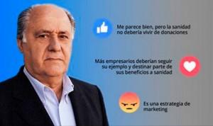 Apoyo 'a regañadientes' al mecenazgo sanitario de Amancio Ortega