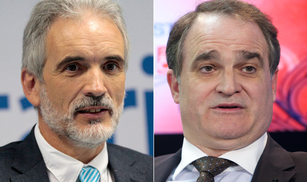 Aquilino Alonso y Antonio Mingorance