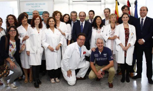 """Aragón estrena su """"mejor centro"""" de salud"""