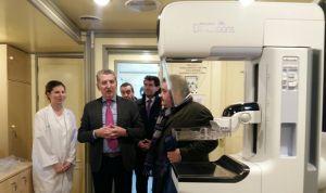Aragón potencia la detección precoz de cáncer de mama con nuevos mamógrafos