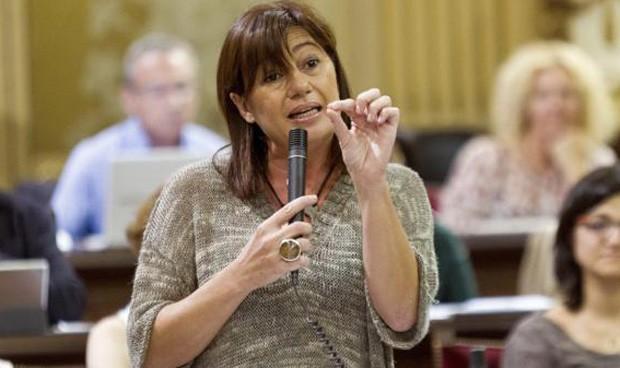 Armengol reitera que el catalán se exigirá para trabajar en el Ib-Salut