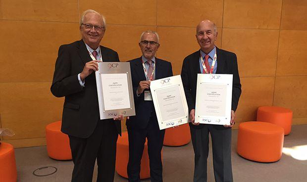 ASCO certifica la calidad asistencial en c�ncer de 3 hospitales espa�oles