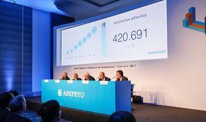 Asepeyo pierde 400 médicos y 10 millones de beneficio en su balance anual