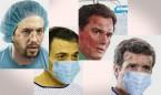 Así es la impactante imagen de Iglesias, Sánchez, Rivera y Casado enfermos