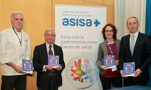 Asisa publica 14 menús de talla mundial para personas diabéticas
