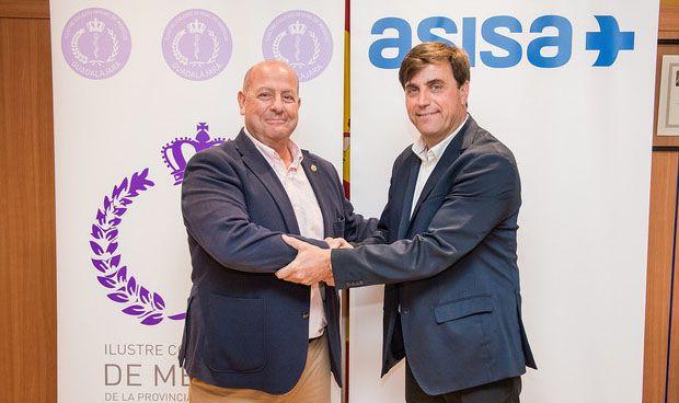 Asisa y los médicos de Guadalajara firman un acuerdo de colaboración