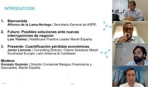 ASPE analiza las pérdidas económicas por Covid-19 y cobertura de pandemias