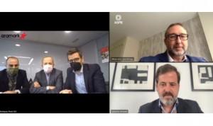 """ASPE y Aramark renuevan su colaboración por el """"bienestar del paciente"""""""