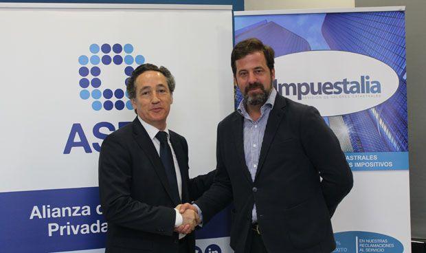 ASPE e Impuestalia renuevan su acuerdo de colaboración