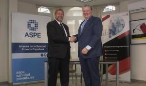 ASPE formaliza un acuerdo para colaborar en formación con Hedima