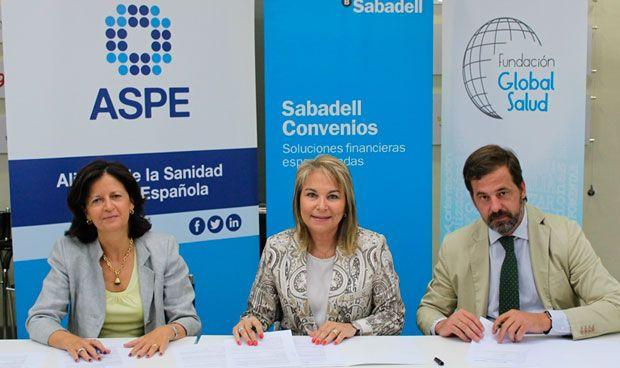 ASPE ofrece atención financiera a sus asociados a través de Banco Sabadell