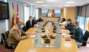 """""""Avances y sintonía"""" en la primera reunión Covid-19 entre Sanidad y Madrid"""