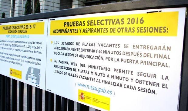 Aviso importante del Ministerio sobre los actos de asignación de plazas MIR