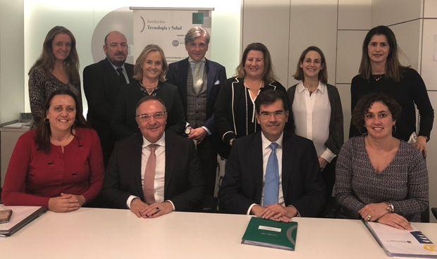 Baltar presenta su proyecto sanitario a la Fundación Tecnología y Salud