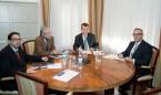 Baltar se reúne con los colegios de Médicos y Enfermería de Tenerife