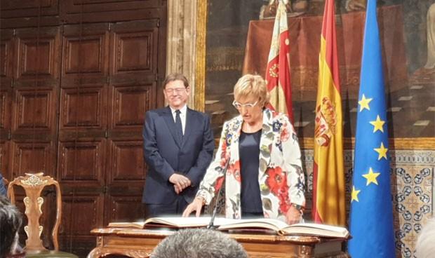 "Barceló toma posesión ""agradecida"" como consejera de un área ""tan sensible"""