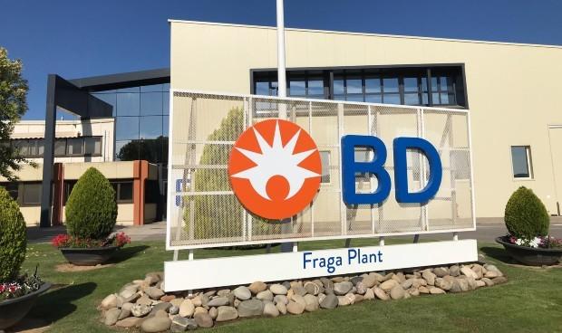 BD llevará a Zaragoza su cuarta planta de producción en España