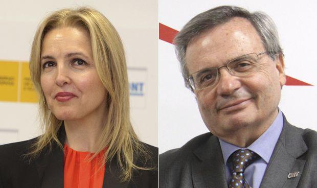 Beatriz Domínguez-Gil y Rafael Matesanz