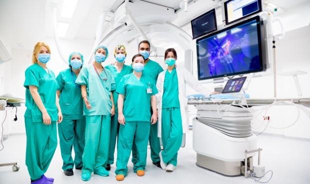 Bellvitge cuenta con una nueva sala para tratar patologías neurovasculares