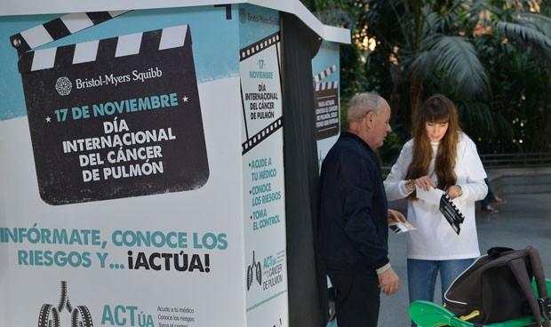 Bristol-Myers Squibb conciencia sobre el cáncer de pulmón con 'ACTúa'