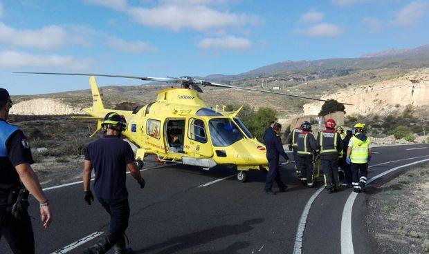 Canarias invierte 14 millones en dos nuevos helicópteros medicalizados