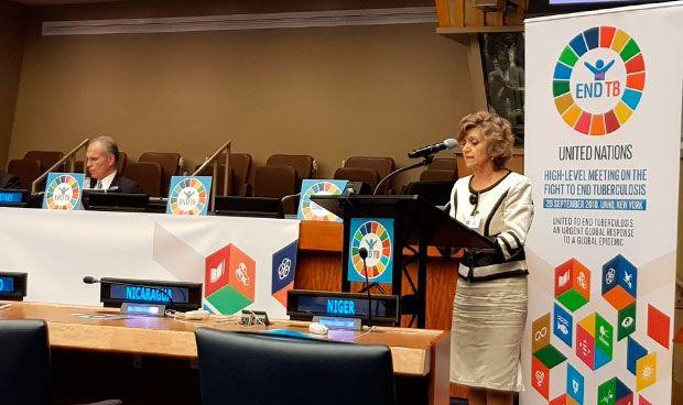 Carcedo presume ante la ONU de la universalización de la sanidad en España