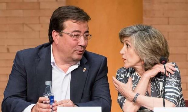 Carcedo y Fernández Vara, 'fans' de Concha Velasco y Pepe Viyuela