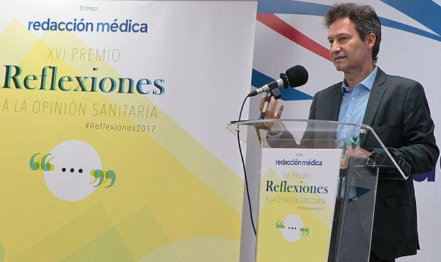 Carlos Alberto Arenas, ganador del XVI Premio Reflexiones