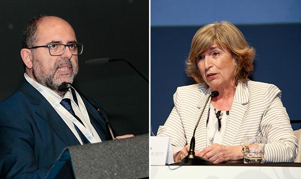 Carlos Moreno y Pilar de Lucas