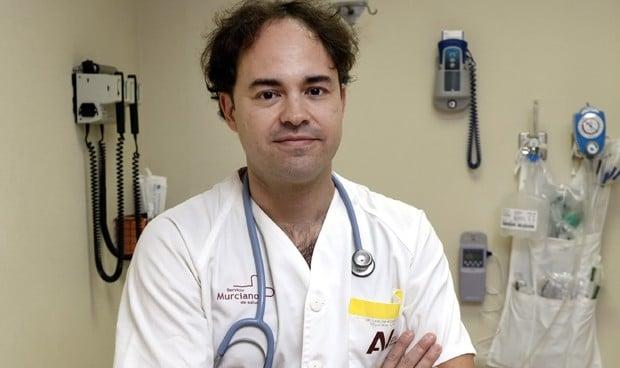 Carlos Pérez Cánovas, jefe de Estudios de la Unidad Docente de Pediatría