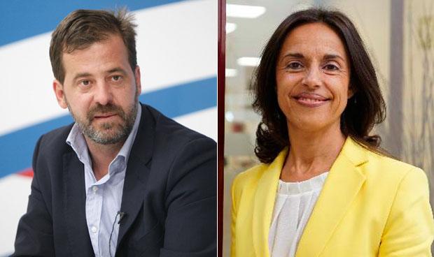 Carlos Rus y Cristina González
