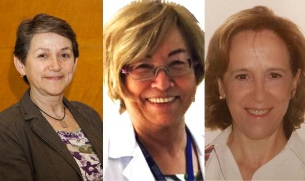 Carmen Ayuso, Laura Oleaga y Gloria Gómez, medallas de Oro de la Seram