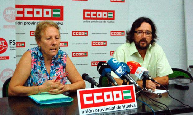 Carmen Marchena y Jesús Torno