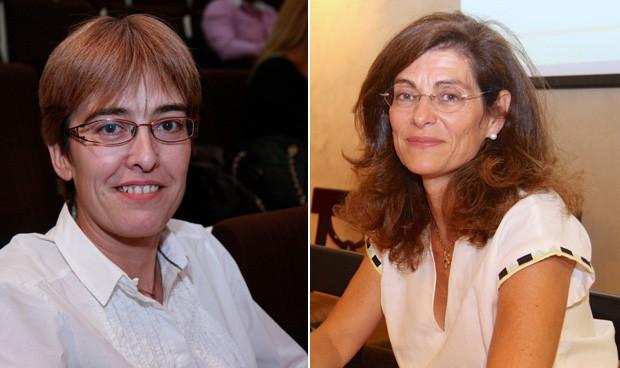 Carmen Martínez de Pancorbo y Beatriz Rivera