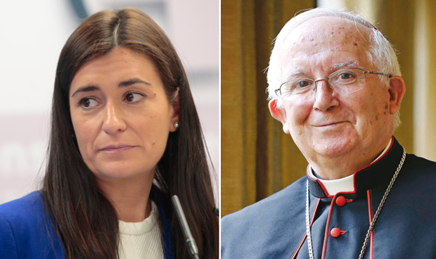 Carmen Montón ha topado con la Iglesia
