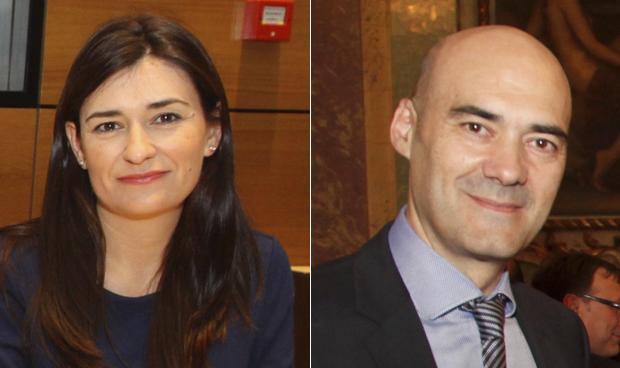 Carmen Montón y Sergio Marco